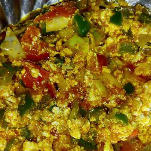 Photo of Paneer bhurji by Sakshi Goswami at BetterButter