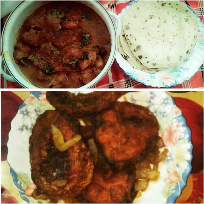 Photo of Fried Fish wid Chicken Curry by Sakshi Hotwani at BetterButter
