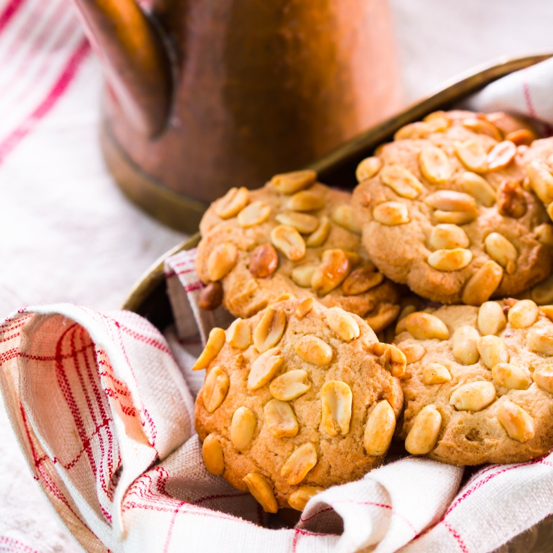 How to make Peanut cookies