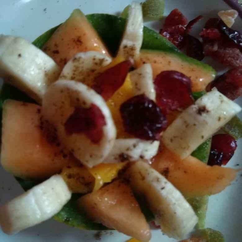 How to make फल चाट