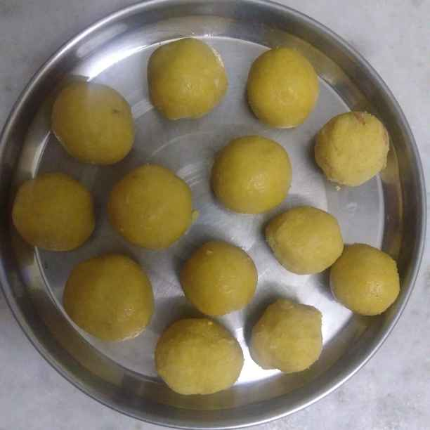 Photo of Lavva laddu by Sakthi Durga J at BetterButter