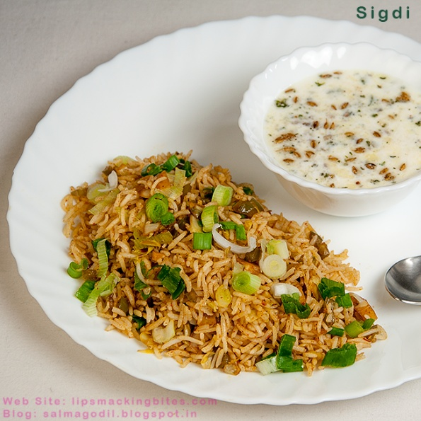 Photo of Sigdi Smoked Rice by Salma Godil at BetterButter