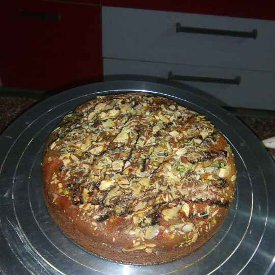How to make Nutty Cake