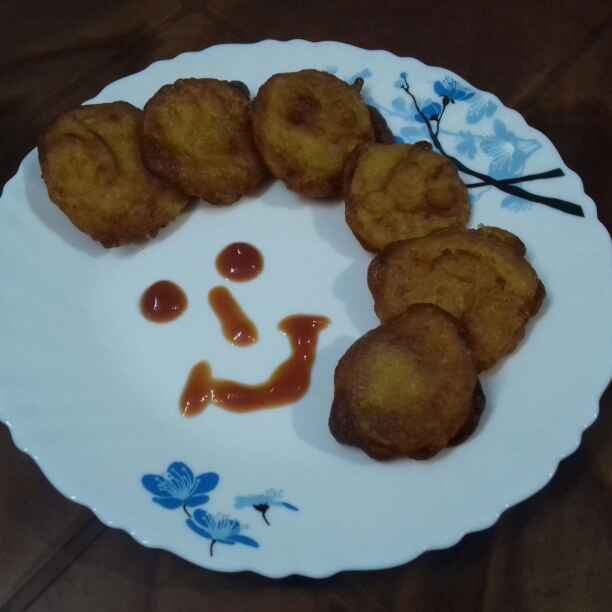 Photo of Crispy Tomato pakora by Sambita Rudra at BetterButter