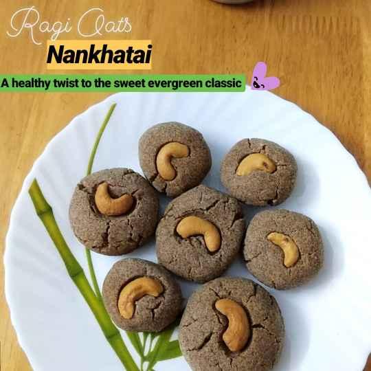 Photo of Ragi Oats Nankhatai by Samiksha Saxena at BetterButter