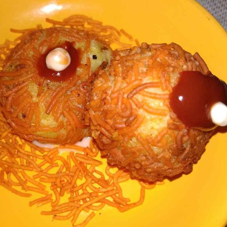 Photo of Bottlegourd Potato cheese Ball by samina shaikh at BetterButter