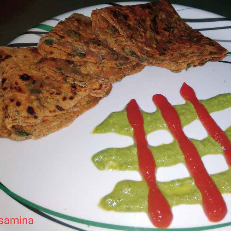 How to make Chinese Paratha