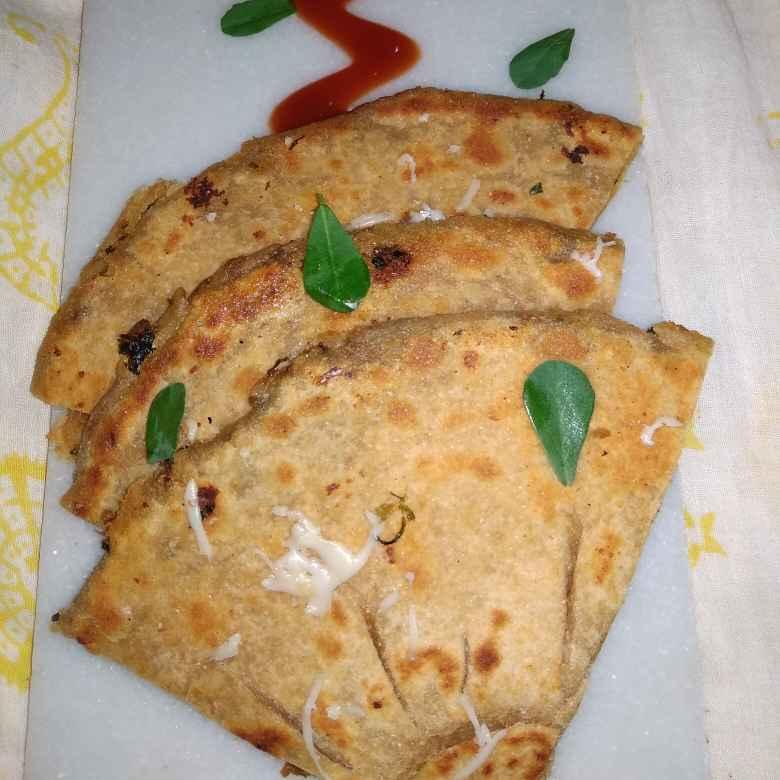 Photo of Paratha Pizza by samina shaikh at BetterButter