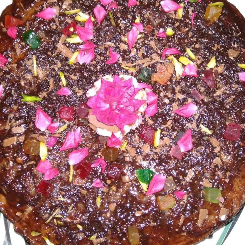 Photo of Rose Dry Fruit Cake by samina shaikh at BetterButter
