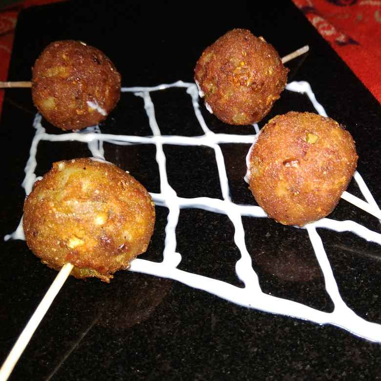 Photo of Potato Lollipop by samina shaikh at BetterButter