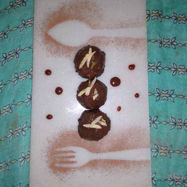Photo of Surprice Chocolate Boll by samina shaikh at BetterButter