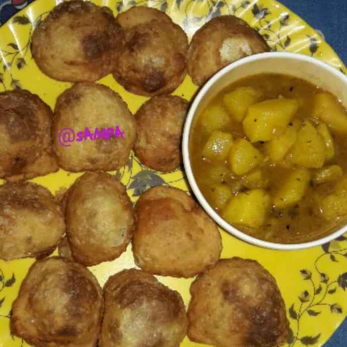 How to make Tepa kochuri/club kochuri