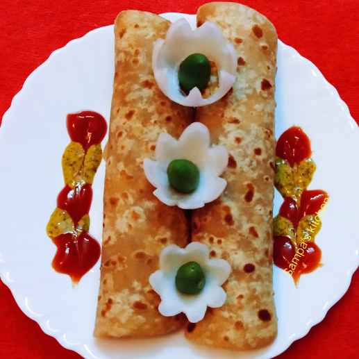 Photo of Paneer roll by sampa sardar at BetterButter