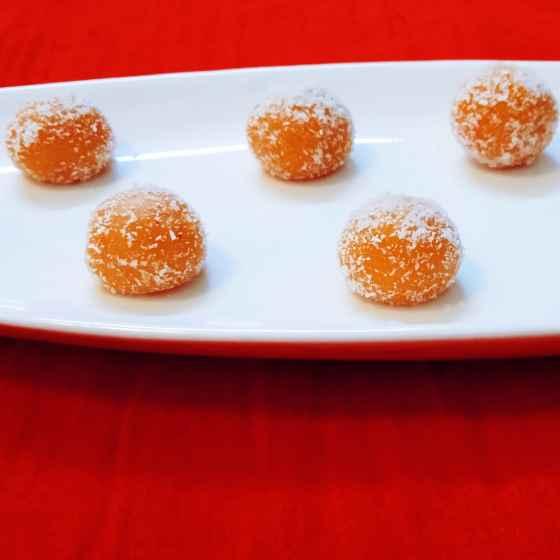 Photo of Orange almond delight by sampa sardar at BetterButter