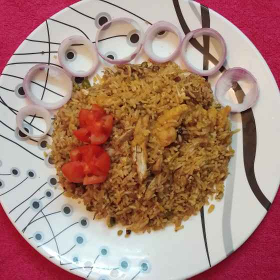 Photo of Chicken fried rice by sampa sardar at BetterButter