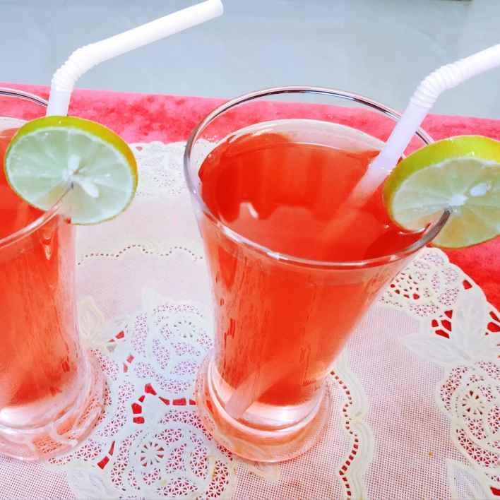 Photo of Lemon rose drink by sampa sardar at BetterButter