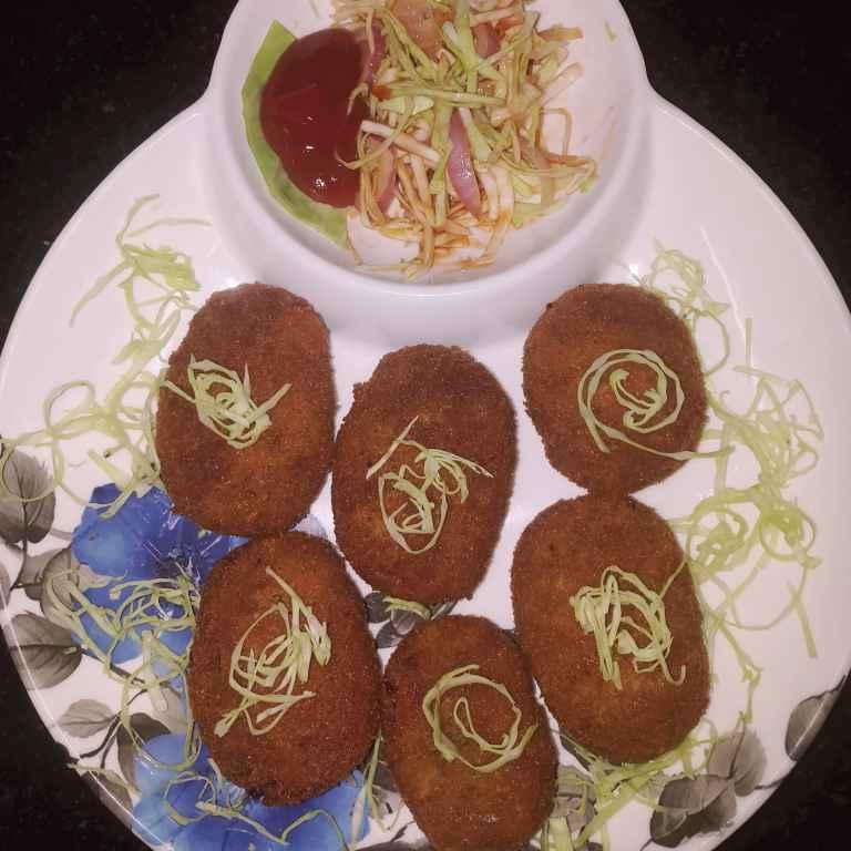 Photo of Soya bean cutlet by Sampurna Sarkar at BetterButter