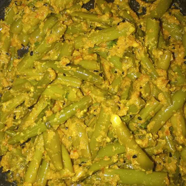 Photo of Beans masla fry by Sampurna Sarkar at BetterButter