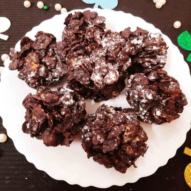 Photo of Chocolaty Cornflakes by Sampurna Sarkar at BetterButter