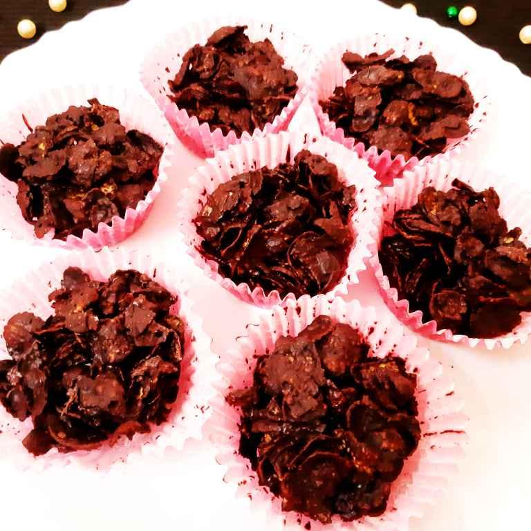 Photo of Chocolate Crispy Cakes by Sampurna Sarkar at BetterButter