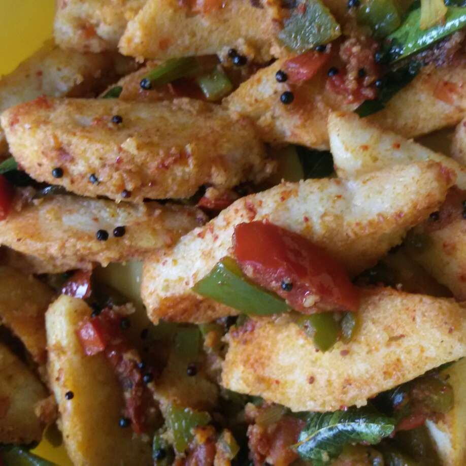 How to make Veggies Idli