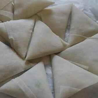 How to make Chicken cheese corn Samosa savoury