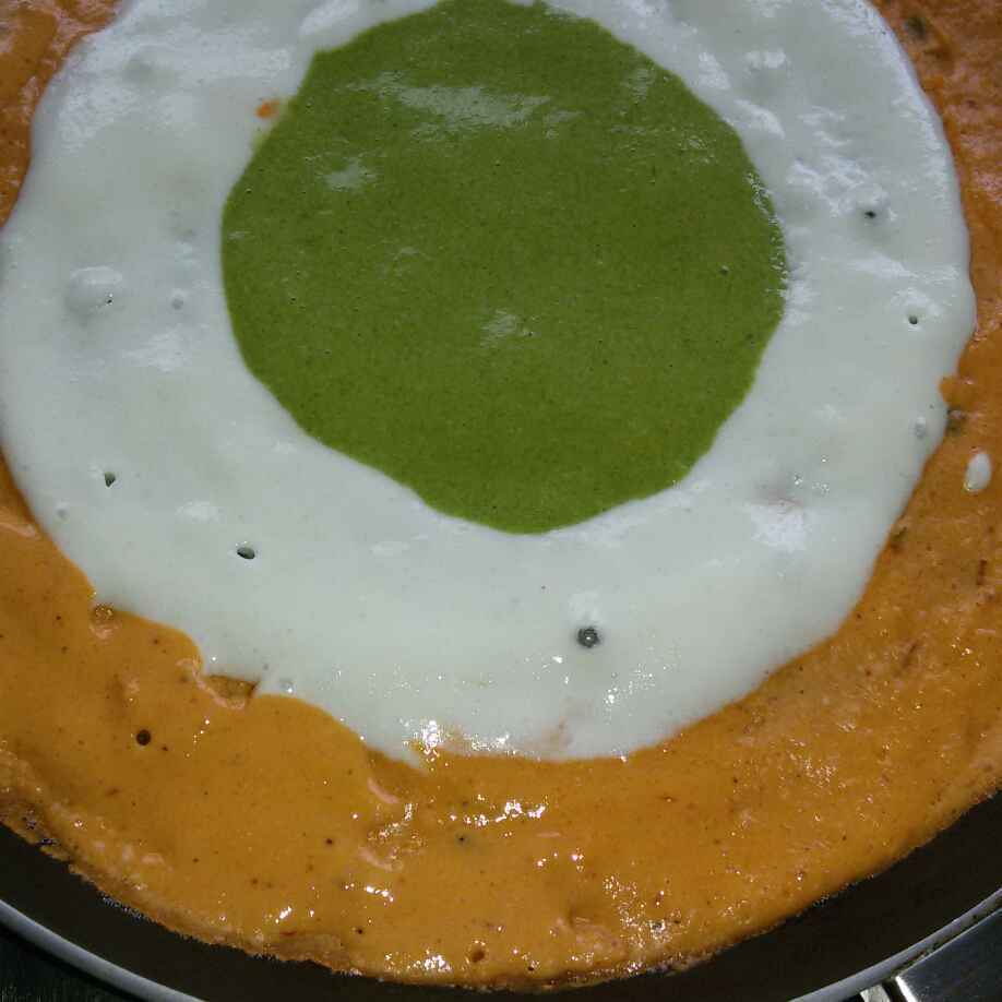 Photo of Tiranga Dosa by sana Tungekar at BetterButter