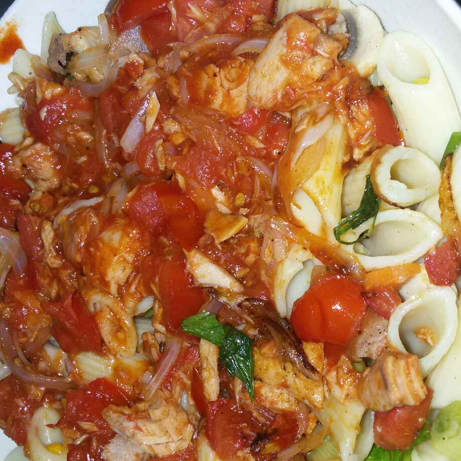Photo of Tuna Tangy Pasta by sana Tungekar at BetterButter