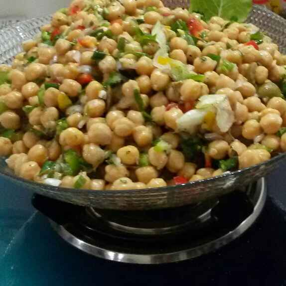 Photo of Chick Peas Chaat by Sana Tungekar at BetterButter