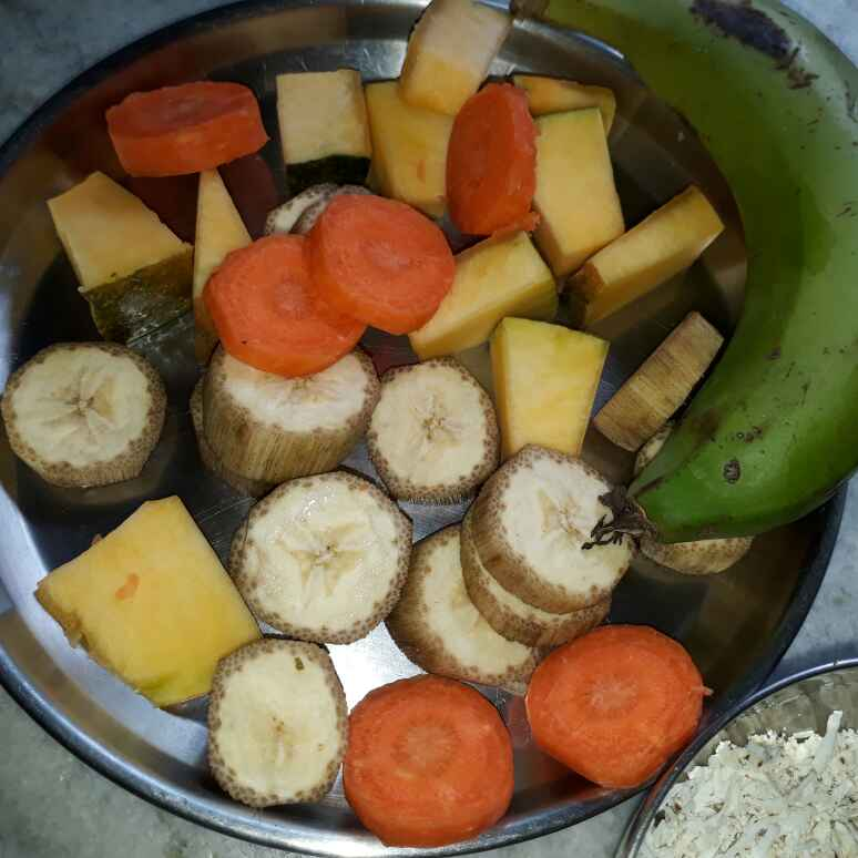 Photo of Raw Banana Veggie by Sana Tungekar at BetterButter