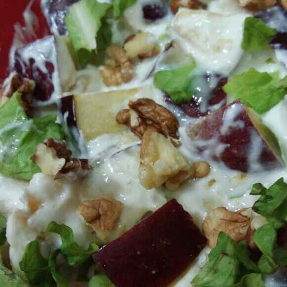 How to make Waldorf Salad