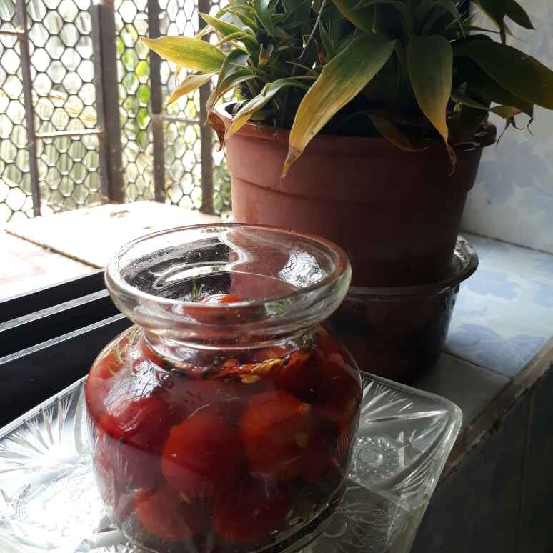 Photo of Pickled Cherry Tomatoes by sana Tungekar at BetterButter
