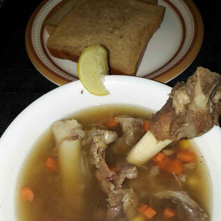 Photo of Gosht/matan shorba stew by Sana Tungekar at BetterButter