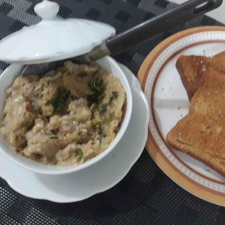 How to make Creamy Pepper Oats Millet Porridge