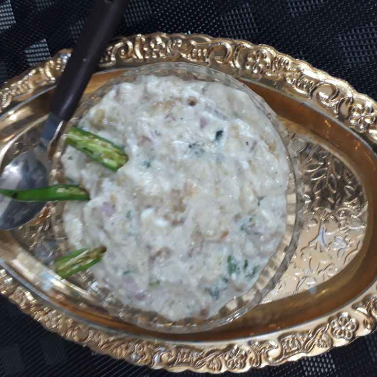 Photo of Baingan bharta kokani/goani by sana Tungekar at BetterButter
