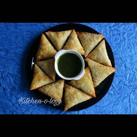 Photo of Chinese Samosa by Rachna Chadha Sanam Merchant at BetterButter