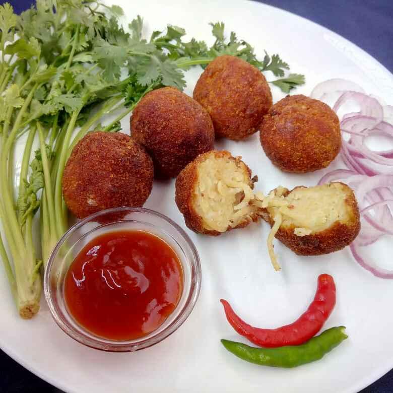 Photo of Spaghetti ball by Sananda Bhattacharyya at BetterButter