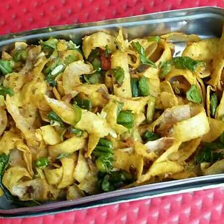 How to make Roti chaat