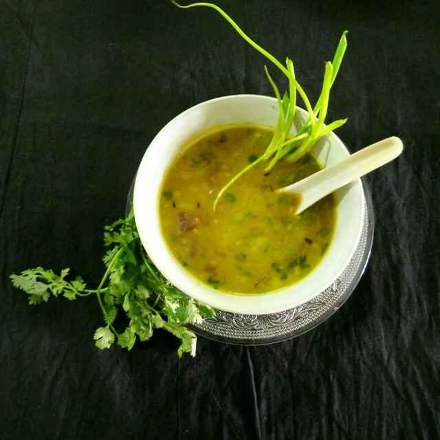 Photo of Alu Dal /Soup by Sanchari Karmakar at BetterButter