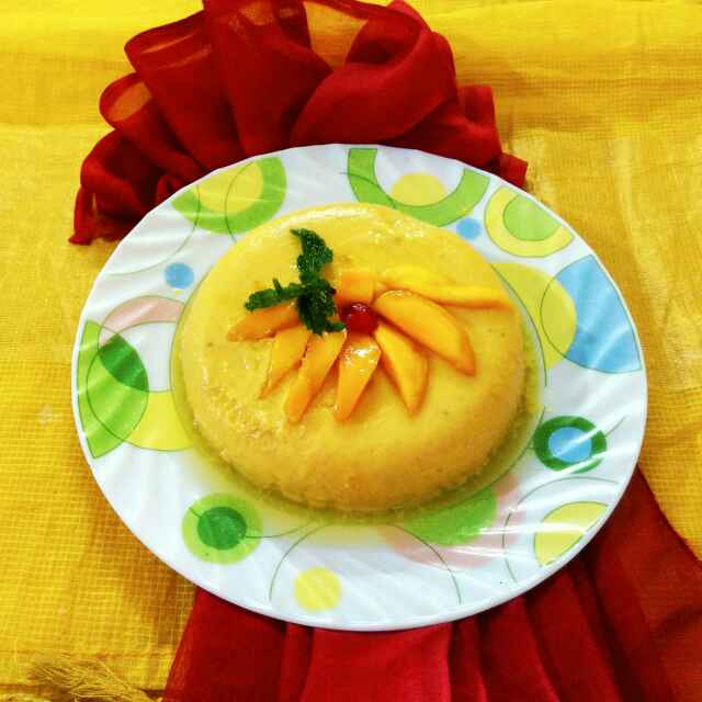 How to make Mango delight pudding