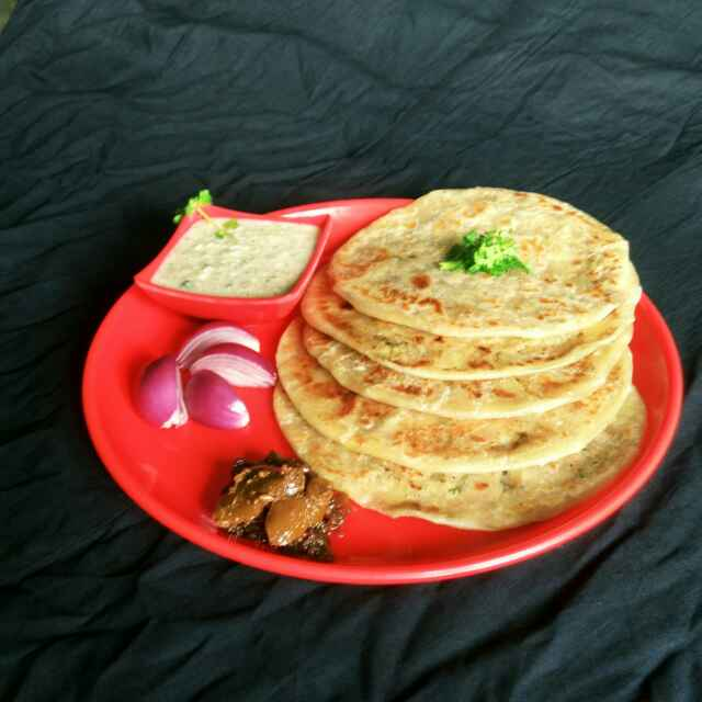 Photo of Alur porota by Sanchari Karmakar at BetterButter