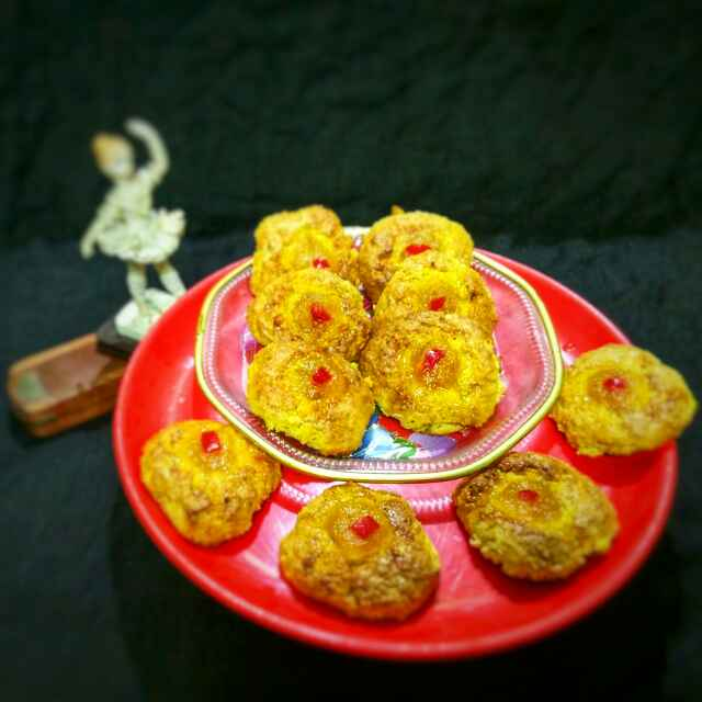 Photo of mango oats jimjam cookies by Sanchari Karmakar at BetterButter