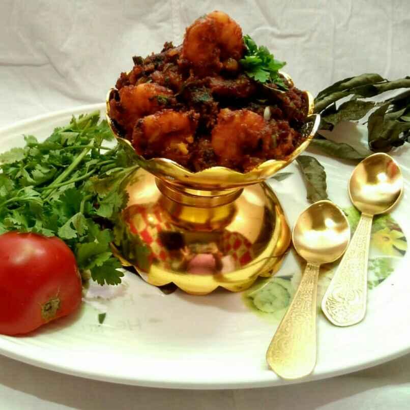 How to make masala prawn (Andhrapradesh style)