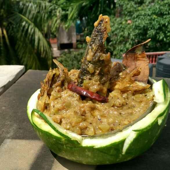 Photo of amish lau shukto by Sanchari Karmakar at BetterButter
