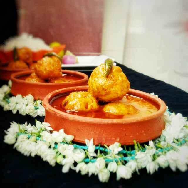 Photo of Chicken balls in spicy gravy by Sanchari Karmakar at BetterButter