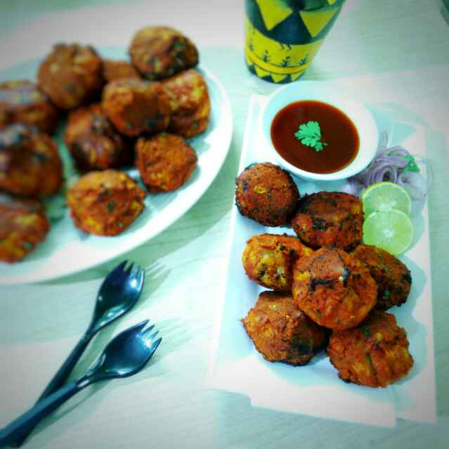 Photo of Fried tandoori momo(street food) by Sanchari Karmakar at BetterButter