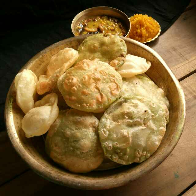 How to make Peas kochuri