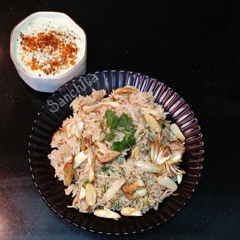 How to make Jackfruit Dum Biryani