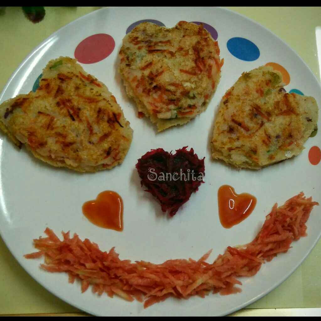 Photo of Suji bread uttapam by Sanchita Agrawal Mittal at BetterButter