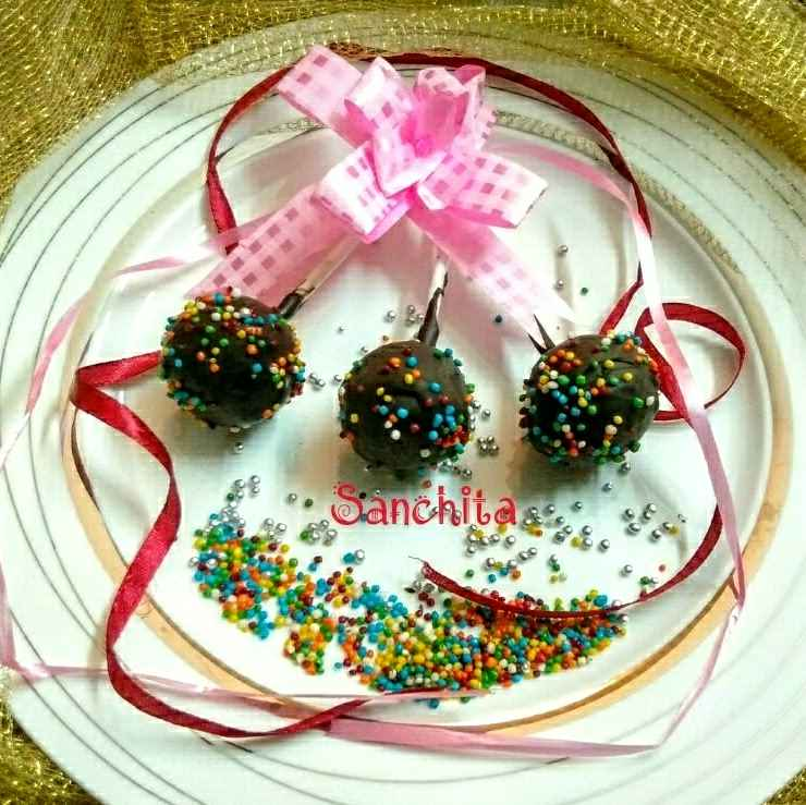 Photo of Chocolate cake pops by Sanchita Agrawal Mittal at BetterButter